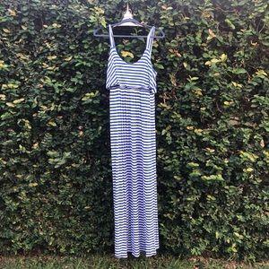 Soma Striped Maxi Dress